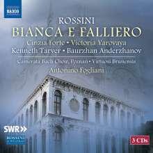 Gioacchino Rossini (1792-1868): Bianca E Falliero, 3 CDs