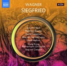 Richard Wagner (1813-1883): Siegfried, 4 CDs