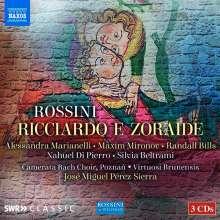 Gioacchino Rossini (1792-1868): Ricciardo e Zoraide, 3 CDs