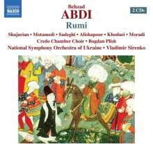 Behzad Abdi (geb. 1973): Rumi, 2 CDs