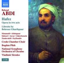 Behzad Abdi (geb. 1973): Hafez (Oper in 2 Akten 2013), 2 CDs