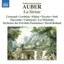 Daniel-Francois-Esprit Auber (1782-1871): La Sirene, CD