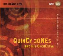Quincy Jones (geb. 1933): Live In Ludwigshafen 1961, CD