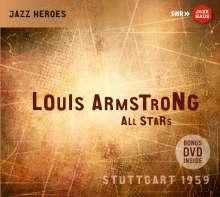 Louis Armstrong (1901-1971): Louis Armstrong All Stars: Stuttgart 1959, 2 CDs