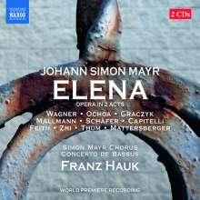 Johann Simon (Giovanni Simone) Mayr (1763-1845): Elena, 2 CDs