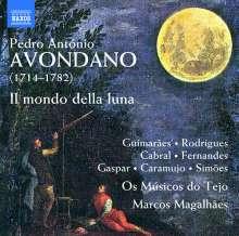 Pedro Antonio Avondano (1714-1782): Il mondo della luna (Oper in 3 Akten), 2 CDs