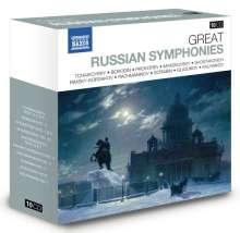 Great Russian Symphonies, 10 CDs