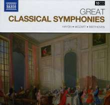 Great Classical Symphonies, 10 CDs