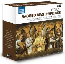 Great Sacred Masterpieces, 10 CDs