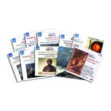 Havergal Brian (1876-1972): Symphonien Nr.1,2,4,6,8,11,12,15,17,18,20-26,28,29,31,32, 11 CDs
