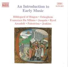 An Introduction to Early Music, CD