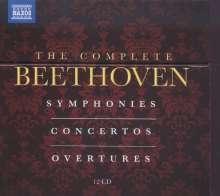 Ludwig van Beethoven (1770-1827): The Complete Beethoven - Symphonies/Concertos/Overtures, 12 CDs