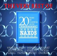 Naxos - 20 Years of Classical Music, 20 CDs