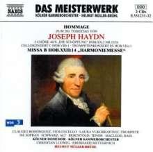 "Joseph Haydn (1732-1809): Messe Nr.14 ""Harmoniemesse"", 2 CDs"