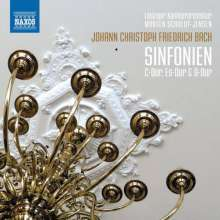 Johann Christoph Friedrich Bach (1732-1795): Symphonien HW I Nr.6,10,20, CD