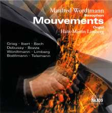 """Musik für Saxophon & Orgel """"Mouvements"""", CD"""