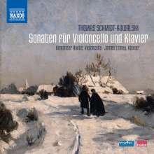 Thomas Schmidt-Kowalski (1949-2013): Sonaten für Cello & Klavier op.4,12,99, CD