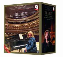 Idil Biret 75th Anniversary Edition - The Complete Studio Recordings 1959-2017, 130 CDs