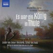 Bettina Pahn - Es war ein König in Thule, CD