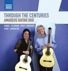 Amadeus Guitar Duo - Thourgh the Centuries, CD