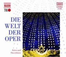 Die Welt der Oper - Arien & Ouvertüren, 3 CDs