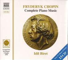 Frederic Chopin (1810-1849): Sämtliche Klavierwerke, 15 CDs