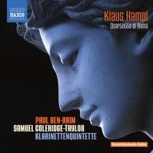 Samuel Coleridge-Taylor (1875-1912): Klarinettenquintett op.10, CD