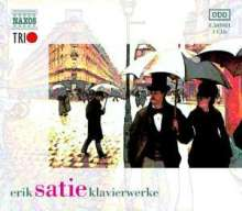 Erik Satie (1866-1925): Klavierwerke Vol.1-3, 3 CDs