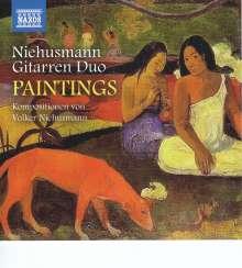 """Volker Niehusmann (geb. 1963): Werke für Gitarrenduo """"Paintings"""", CD"""