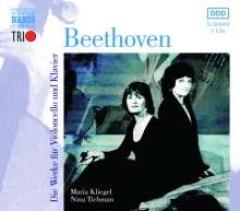 Ludwig van Beethoven (1770-1827): Cellosonaten Nr.1-5 (Naxos Trio), 3 CDs