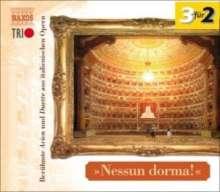"""Arien & Duette aus italienischen Opern """"Nessun dorma!"""", 3 CDs"""