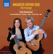 Carlo Domeniconi (geb. 1947): Concerto Mediterraneo op.67, CD