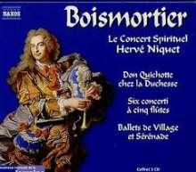 Joseph Bodin de Boismortier (1689-1755): Don Quichotte chez la Duchesse, CD