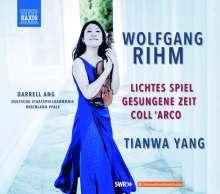 Wolfgang Rihm (geb. 1952): Werke für Violine & Orchester Vol.2 (deutsche Version), CD