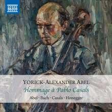Yorick-Alexander Abel - Hommage a Pablo Casals, CD