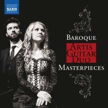 Artis Guitar Duo - Baroque Masterpieces, CD