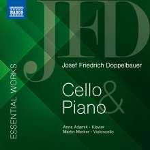 Josef Friedrich Doppelbauer (1918-1989): Werke für Cello & Klavier, CD