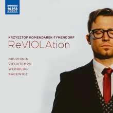 Krzysztof Komendarek-Tymendorf - ReVIOLAtion, CD