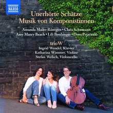 trioW - Unerhörte Schätze, CD