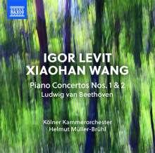 Ludwig van Beethoven (1770-1827): Klavierkonzerte Nr.1 & 2, CD