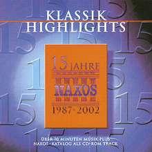 Naxos-Sampler, CD