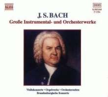 Johann Sebastian Bach (1685-1750): Orchester- und Instrumentalwerke, 5 CDs