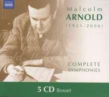 Malcolm Arnold (1921-2006): Symphonien Nr.1-9, 5 CDs
