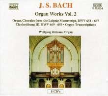 Johann Sebastian Bach (1685-1750): Orgelwerke Vol.2, 5 CDs