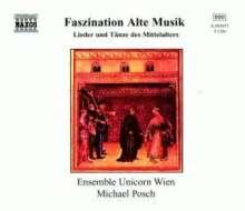 Faszination Alte Musik - Lieder & Tänze des Mittelalters, 5 CDs