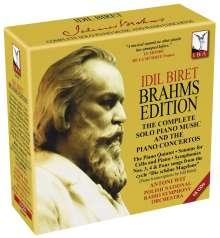 Idil Biret - Brahms Edition, 16 CDs