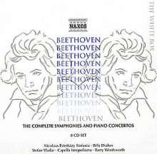 Ludwig van Beethoven (1770-1827): Symphonien & Klavierkonzerte, 8 CDs