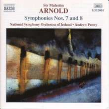 Malcolm Arnold (1921-2006): Symphonien Nr.7 & 8, CD