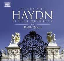 Joseph Haydn (1732-1809): Sämtliche Streichquartette, 25 CDs