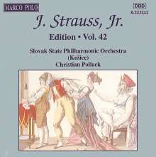 Johann Strauss II (1825-1899): Johann Strauss Edition Vol.42, CD